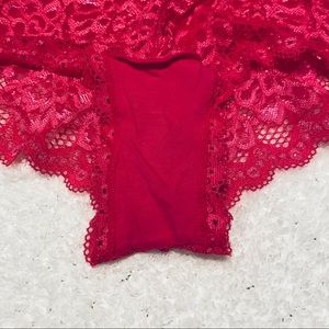 b Intimates & Sleepwear - PINK LACE BRA PANTIE SET 42C